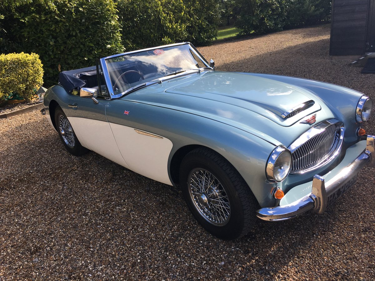 1963 Austin Healey 3000 Mk. 2 SOLD (picture 1 of 6)