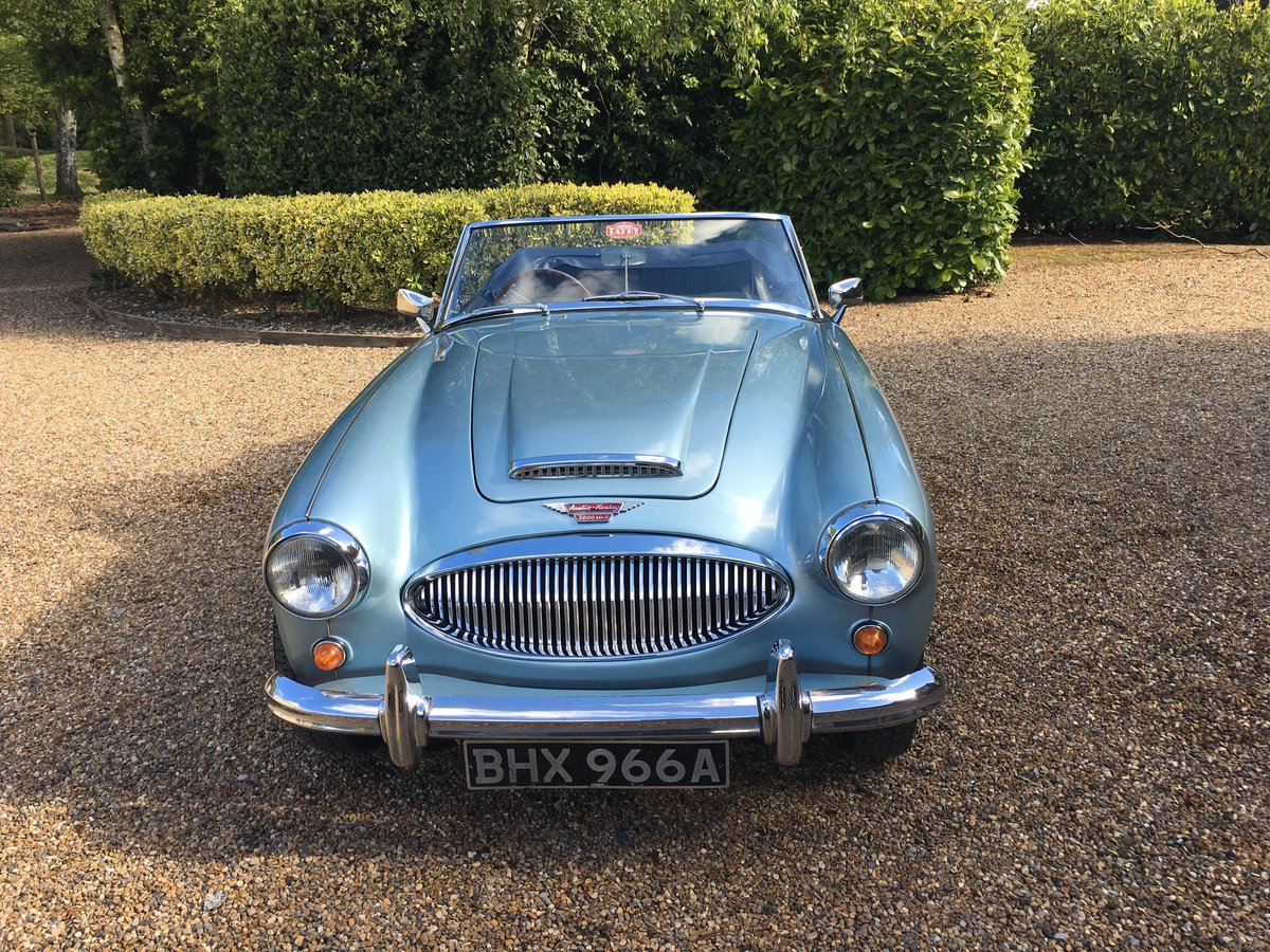 1963 Austin Healey 3000 Mk. 2 SOLD (picture 6 of 6)