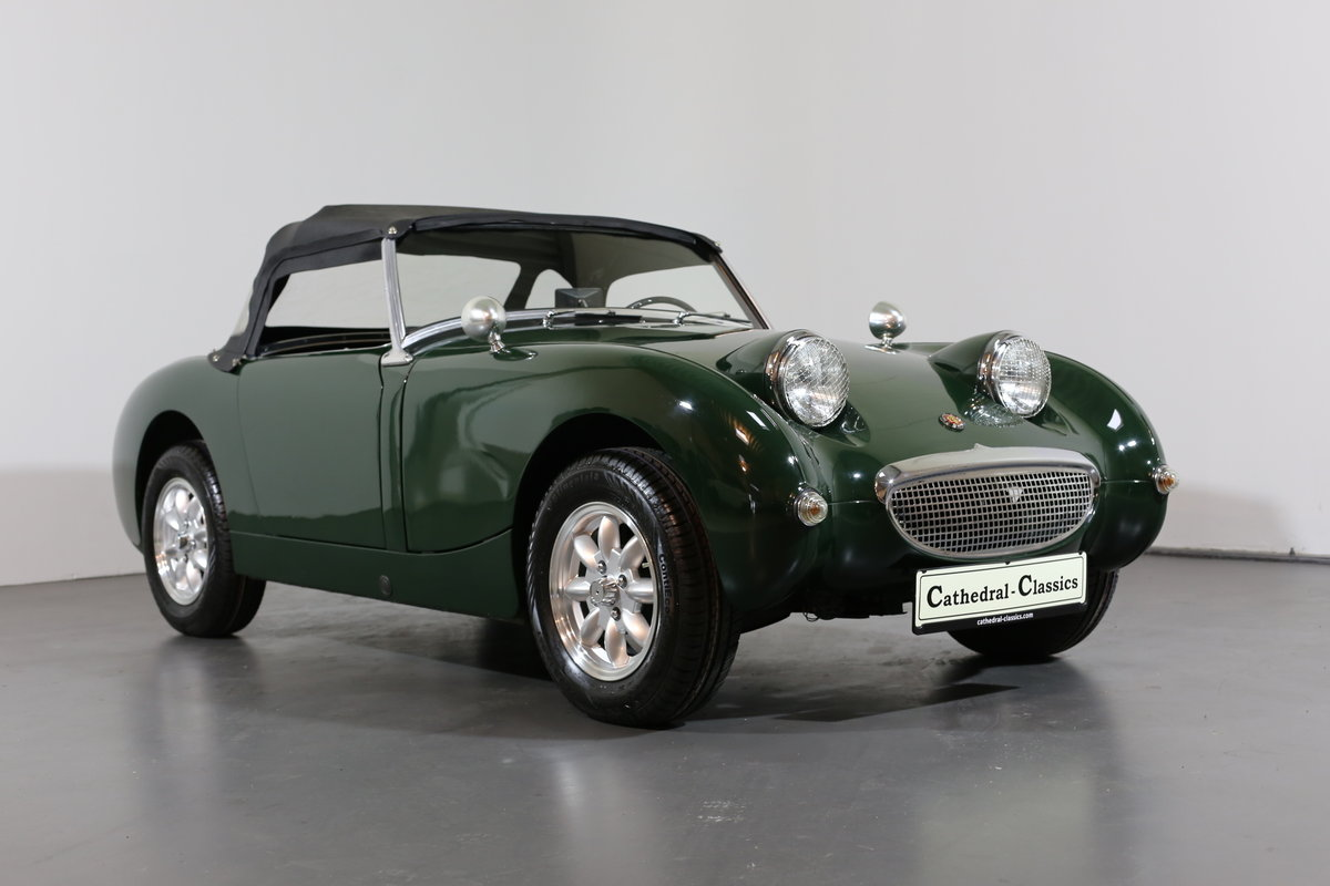 1958 Significant Healey frogeye Sprite ch' 169 matching numbers For Sale (picture 1 of 6)