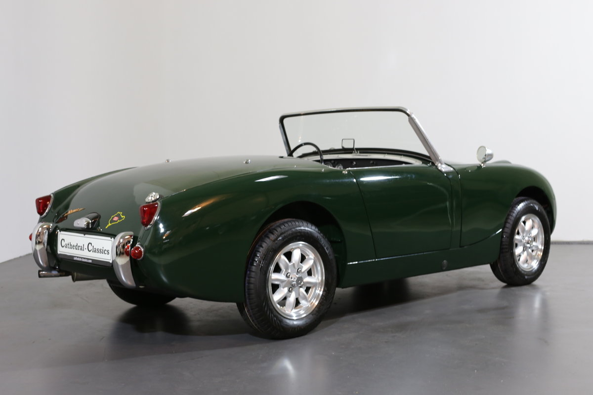 1958 Significant early Healey frogeye Sprite  matching numbers SOLD (picture 2 of 6)