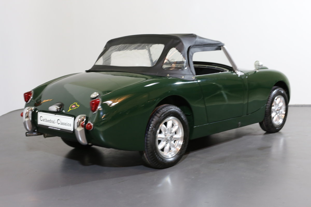 1958 Significant early Healey frogeye Sprite  matching numbers SOLD (picture 3 of 6)