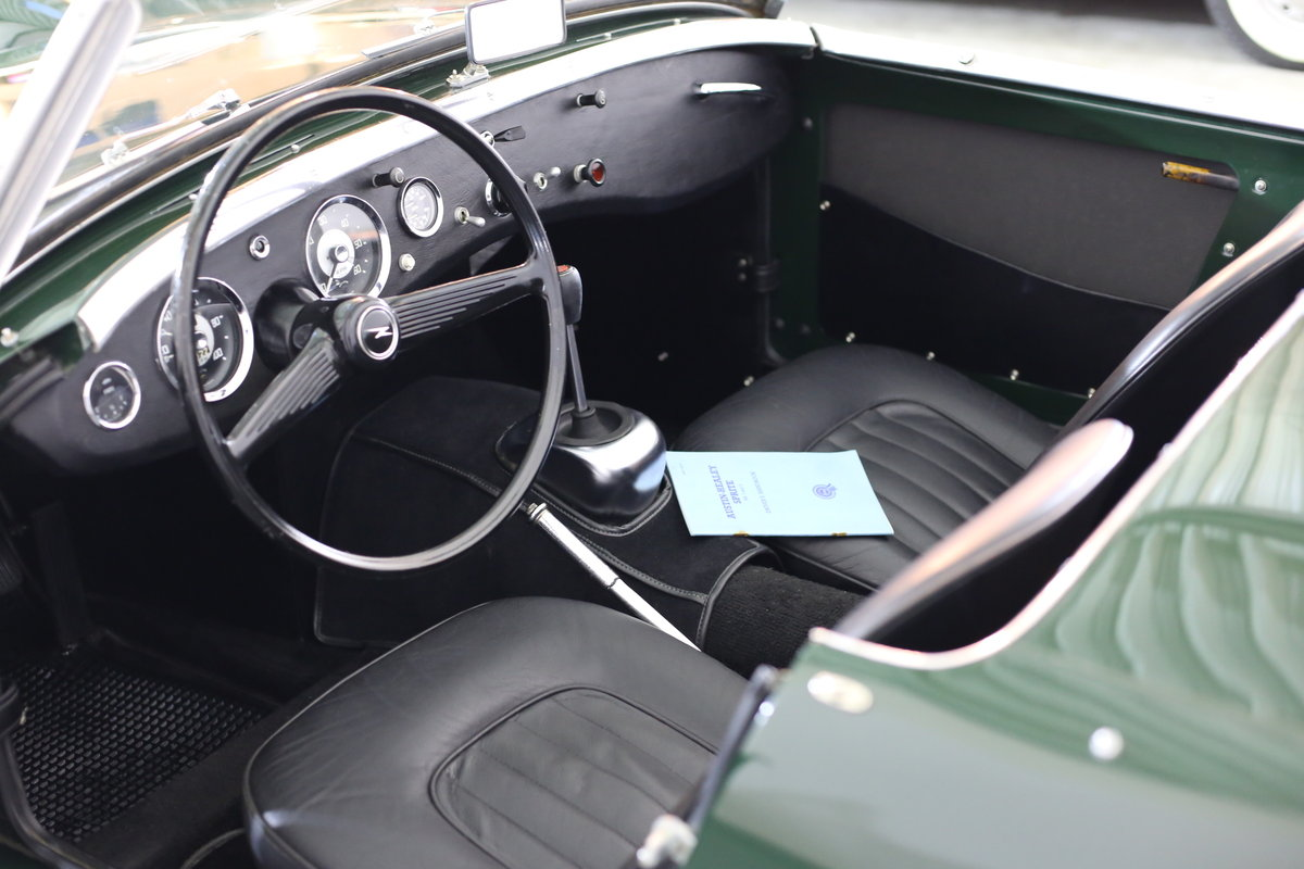 1958 Significant early Healey frogeye Sprite  matching numbers SOLD (picture 4 of 6)