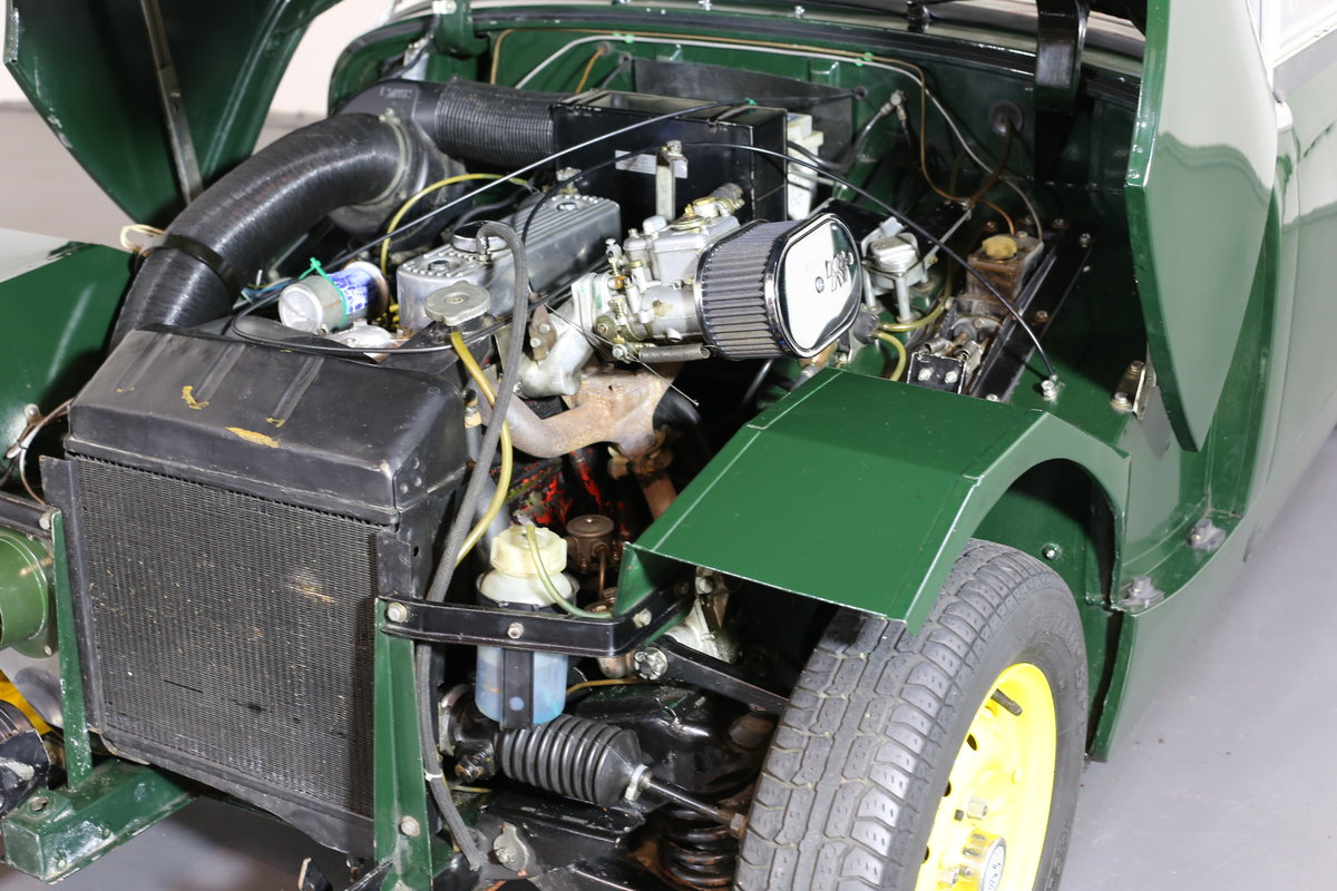 1958 Significant early Healey frogeye Sprite  matching numbers SOLD (picture 5 of 6)