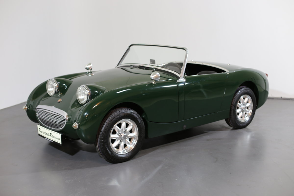 1958 Significant Healey frogeye Sprite ch' 169 matching numbers For Sale (picture 6 of 6)