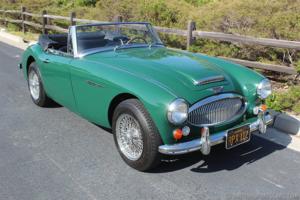 1966 Austin Healey 3000 BJ8 Roadster = Green(~)Black  $55k For Sale