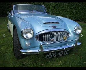 1965 Austin Healey 3000 Mk III BJ8 Phase 2