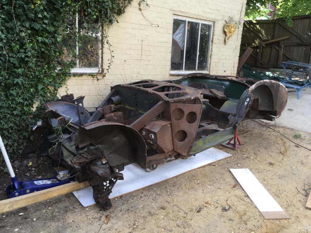 1953 Austin Healey 100-4 BN1 Project For Sale (picture 1 of 5)