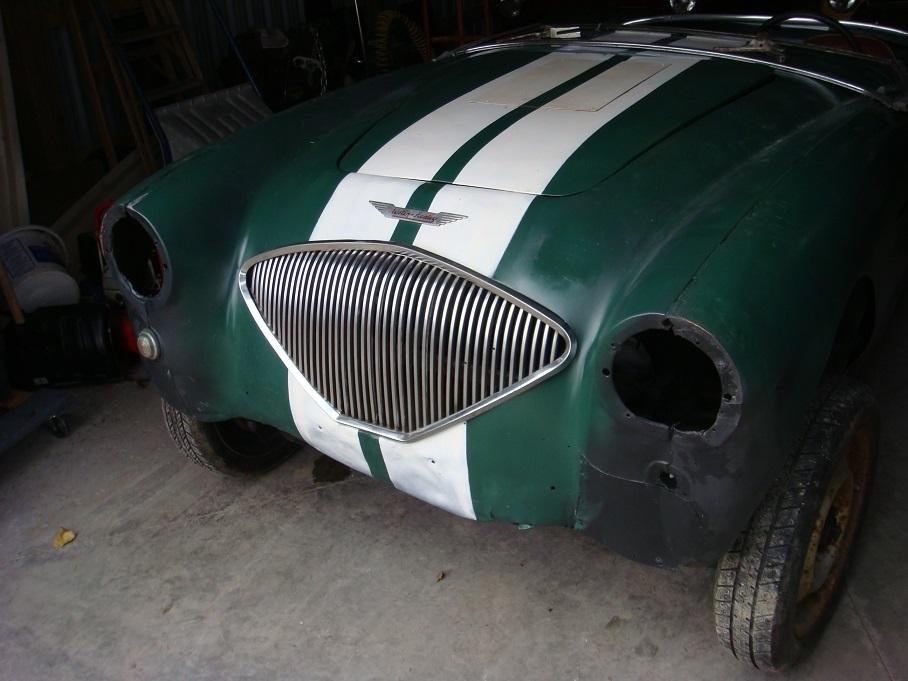 1953 Austin Healey 100-4 BN1 Project For Sale (picture 2 of 5)
