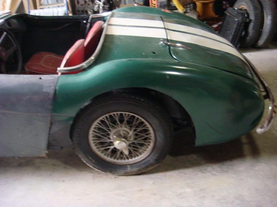 1953 Austin Healey 100-4 BN1 Project For Sale (picture 4 of 5)