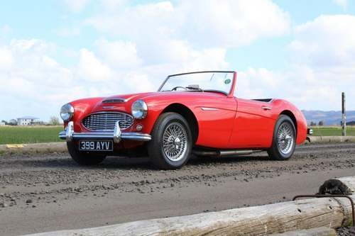 1960 Austin Healey 3000 Mk1 at Morris Leslie Auction 25th May SOLD (picture 1 of 6)