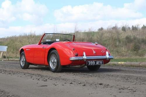 1960 Austin Healey 3000 Mk1 at Morris Leslie Auction 25th May SOLD (picture 2 of 6)