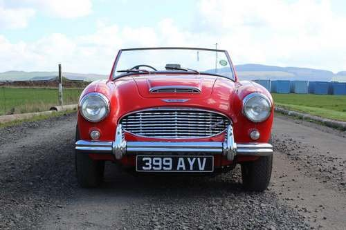 1960 Austin Healey 3000 Mk1 at Morris Leslie Auction 25th May SOLD (picture 3 of 6)