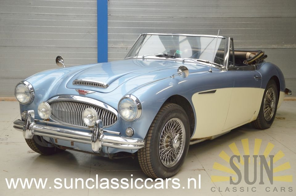 Austin Healey 3000 MK3 1964 with work For Sale (picture 1 of 6)