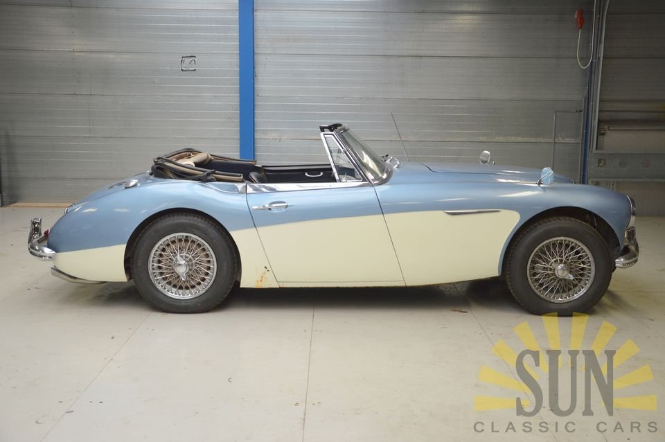 Austin Healey 3000 MK3 1964 with work For Sale (picture 3 of 6)