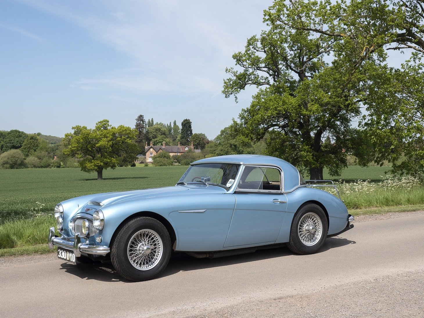 1962 Austin Healey 3000 MKII BT7 UK Home Market RHD For Sale (picture 1 of 6)