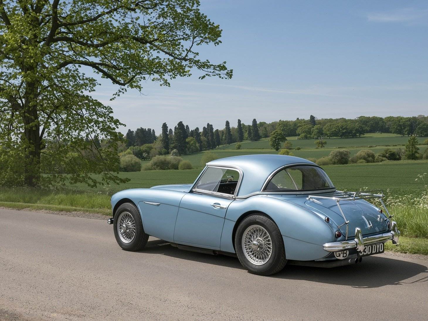 1962 Austin Healey 3000 MKII BT7 UK Home Market RHD For Sale (picture 3 of 6)