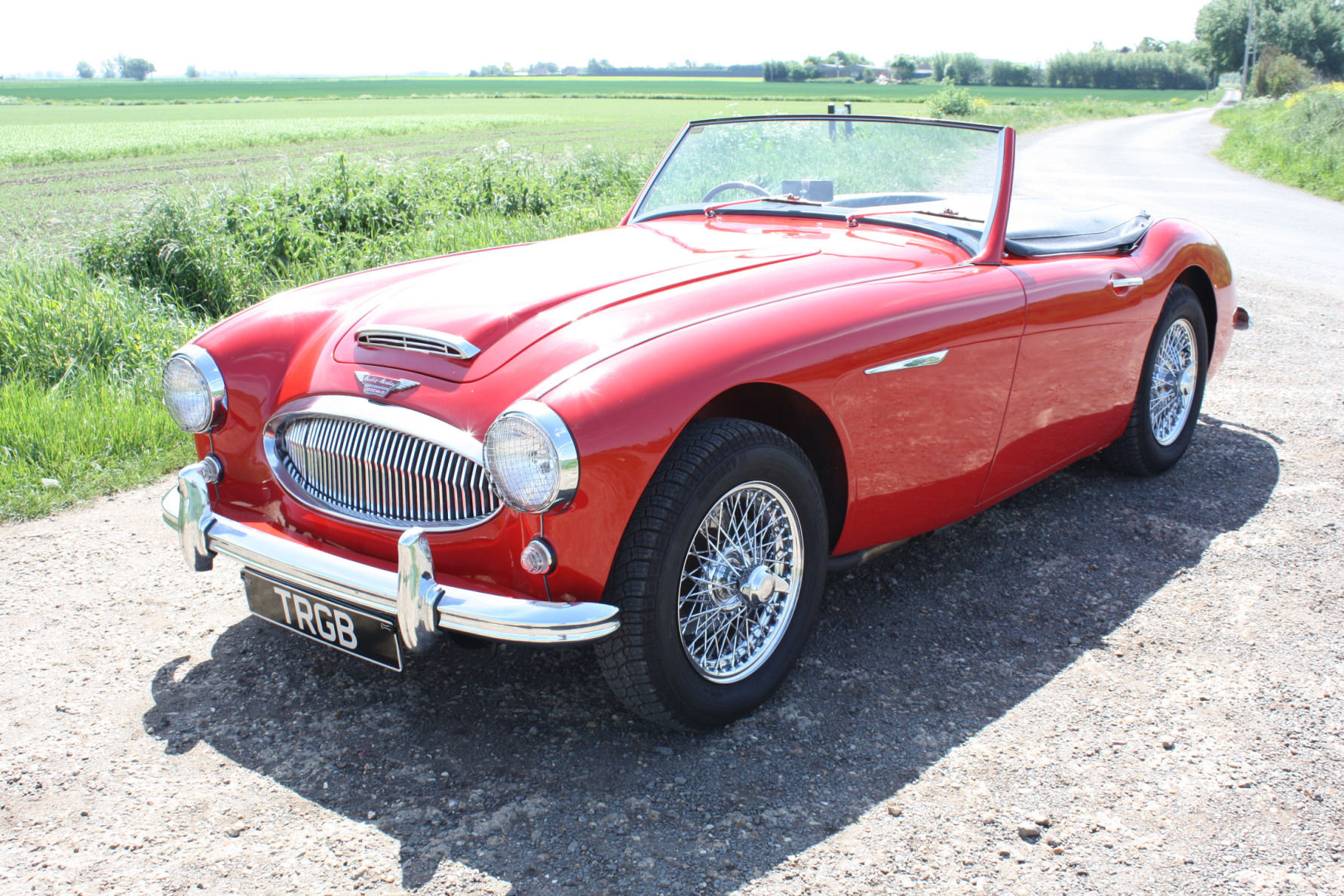 1962 AUSTIN HEALY 3000 MKII FOUR SEATER.  For Sale (picture 1 of 6)