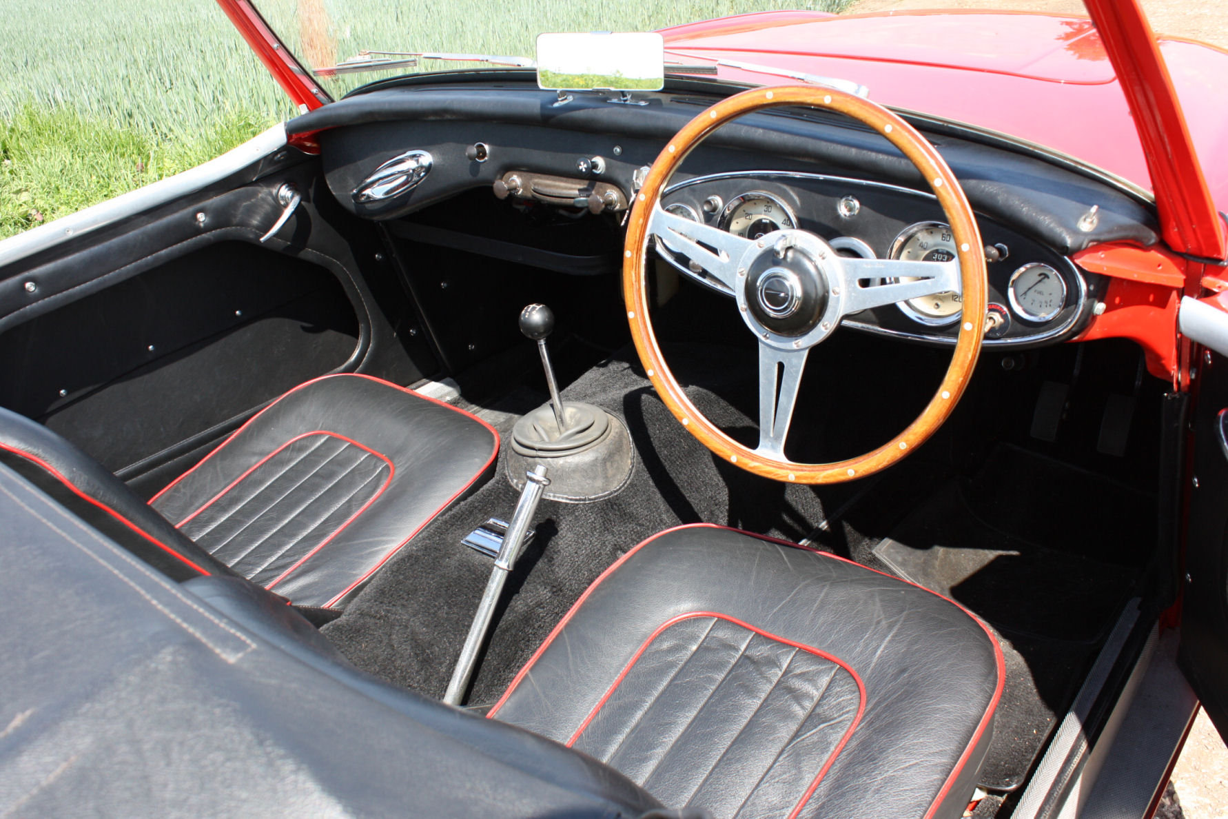 1962 AUSTIN HEALY 3000 MKII FOUR SEATER.  For Sale (picture 2 of 6)