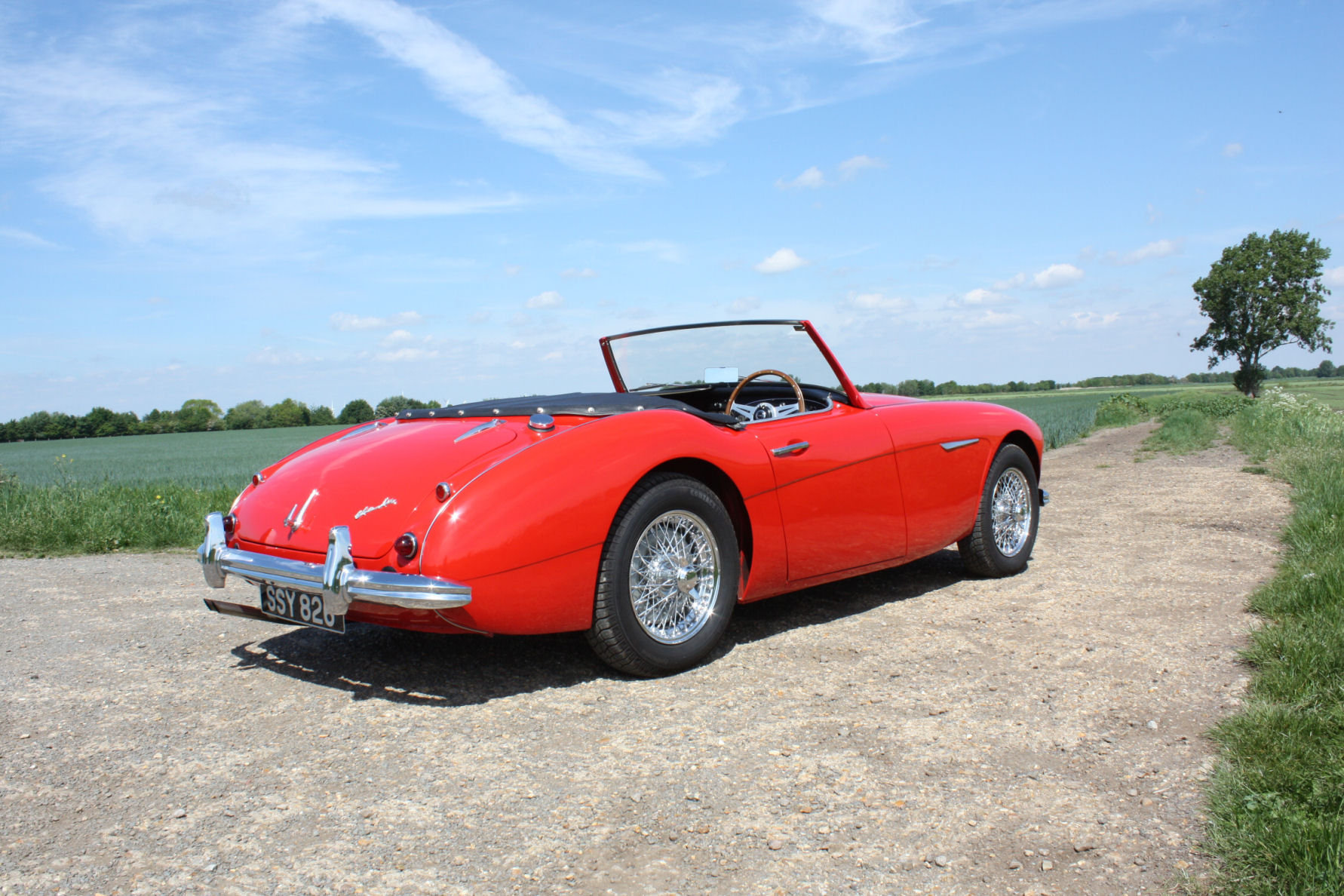 1962 AUSTIN HEALY 3000 MKII FOUR SEATER.  For Sale (picture 4 of 6)