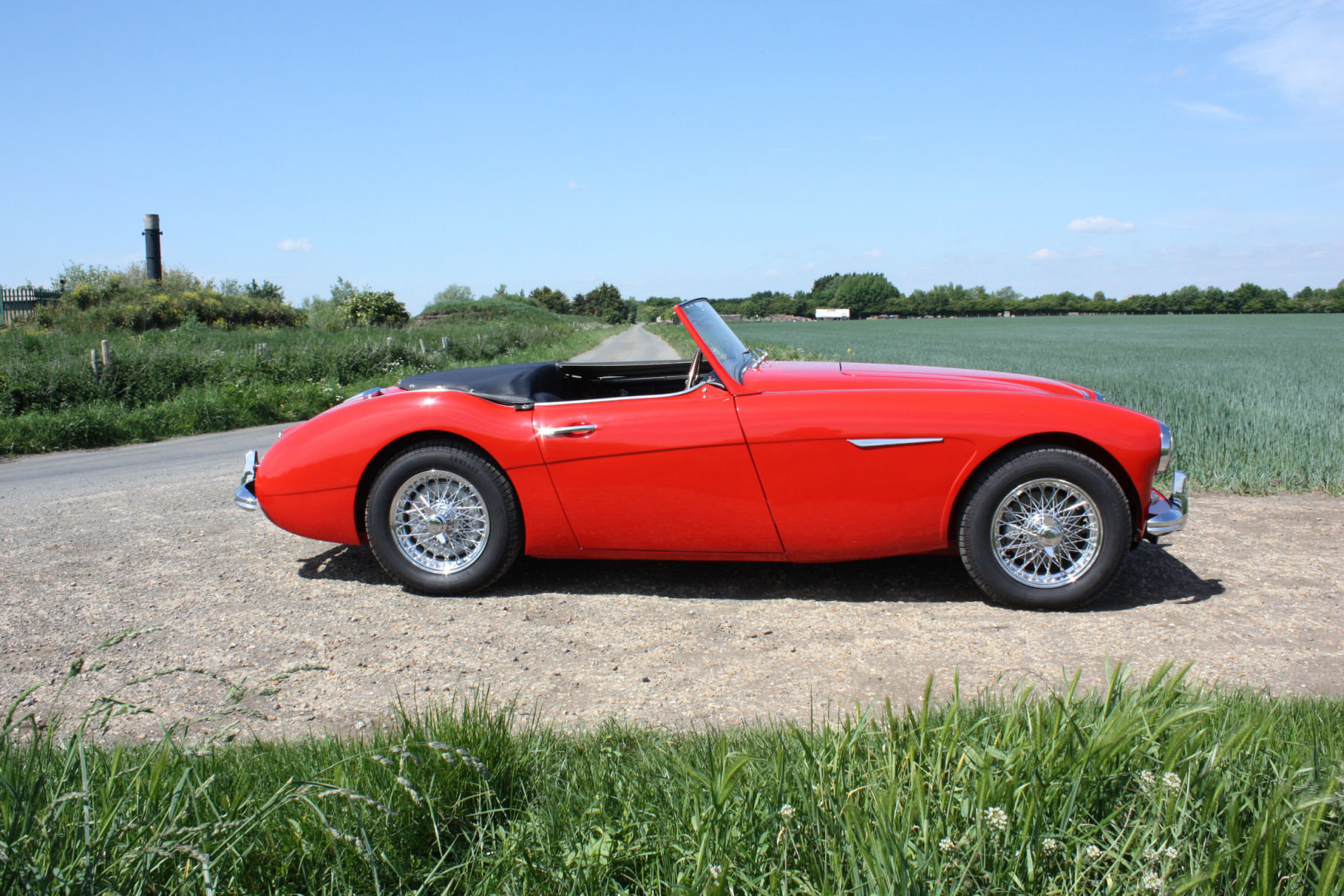 1962 AUSTIN HEALY 3000 MKII FOUR SEATER.  For Sale (picture 5 of 6)