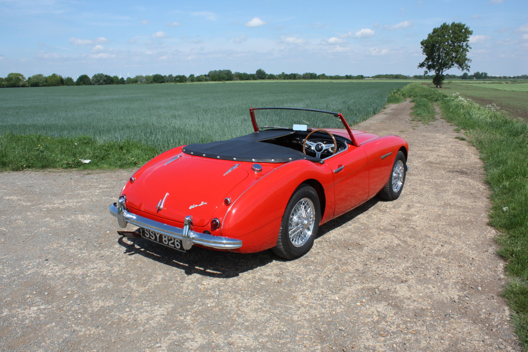 1962 AUSTIN HEALY 3000 MKII FOUR SEATER.  For Sale (picture 6 of 6)