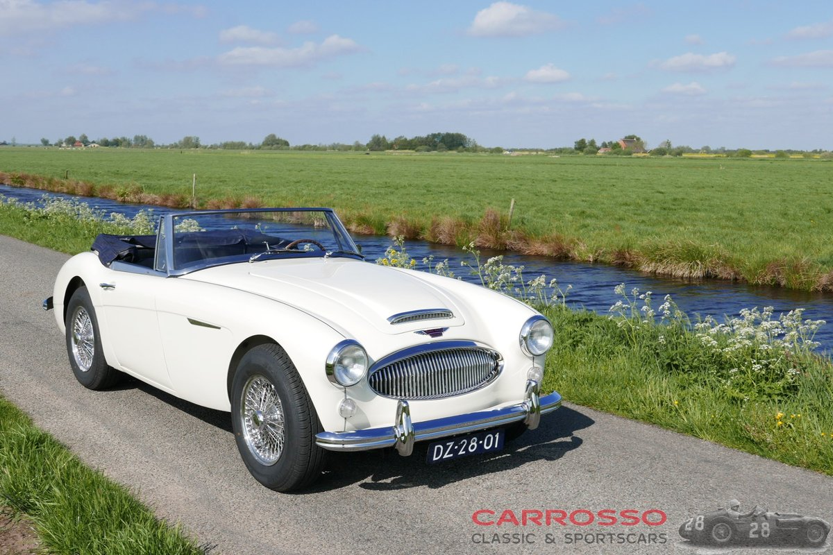 1965 Austin Healey 3000 MKIII BJ8 Restored + Overdrive ! For Sale (picture 1 of 6)