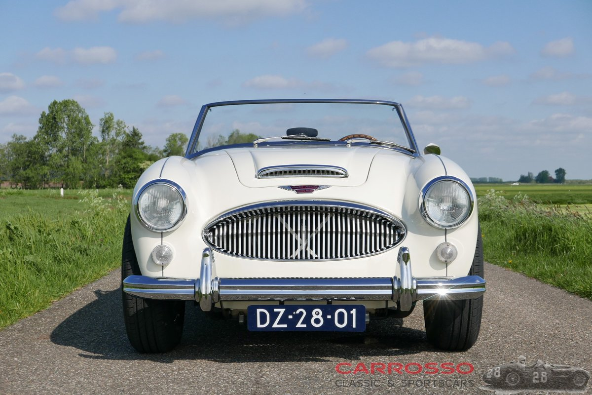 1965 Austin Healey 3000 MKIII BJ8 Restored + Overdrive ! For Sale (picture 5 of 6)