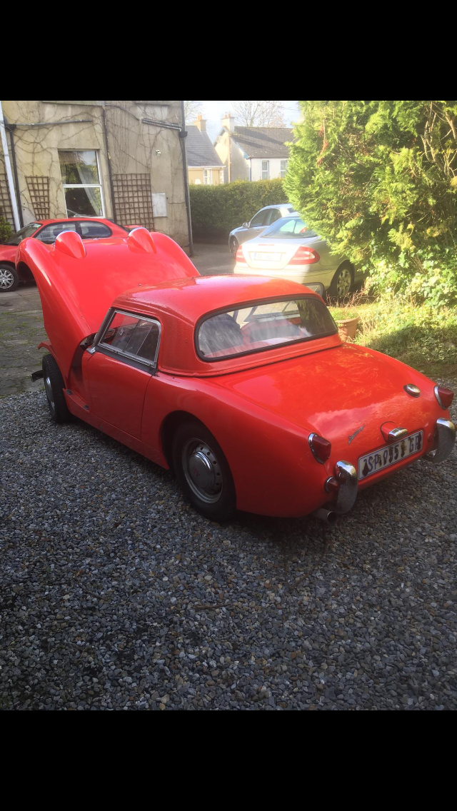 1959 Austin Healey Frogeye Sprite For Sale (picture 4 of 4)