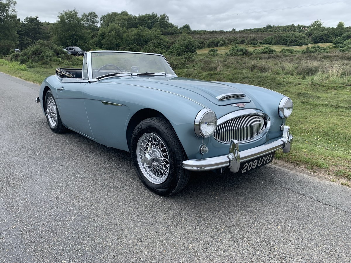 Austin Healey 3000 BJ7 MK11 1963 UK Matching Numbers For Sale (picture 1 of 6)