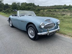 Austin Healey 3000 BJ7 MK11 1963 UK Matching Numbers
