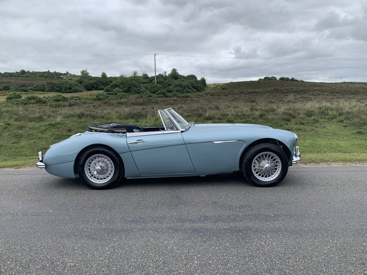 Austin Healey 3000 BJ7 MK11 1963 UK Matching Numbers For Sale (picture 2 of 6)