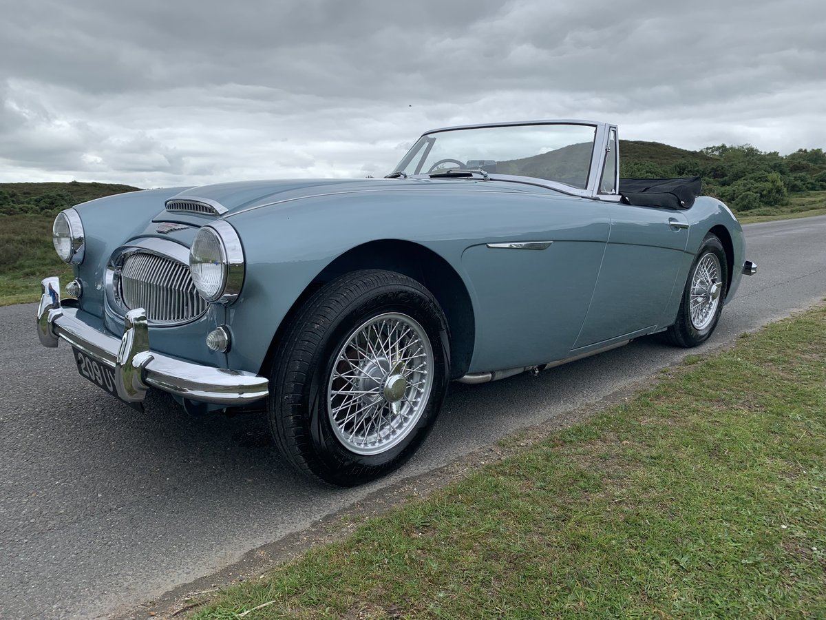 Austin Healey 3000 BJ7 MK11 1963 UK Matching Numbers For Sale (picture 4 of 6)