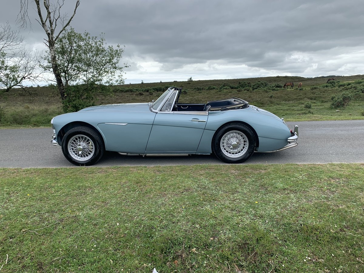 Austin Healey 3000 BJ7 MK11 1963 UK Matching Numbers For Sale (picture 6 of 6)