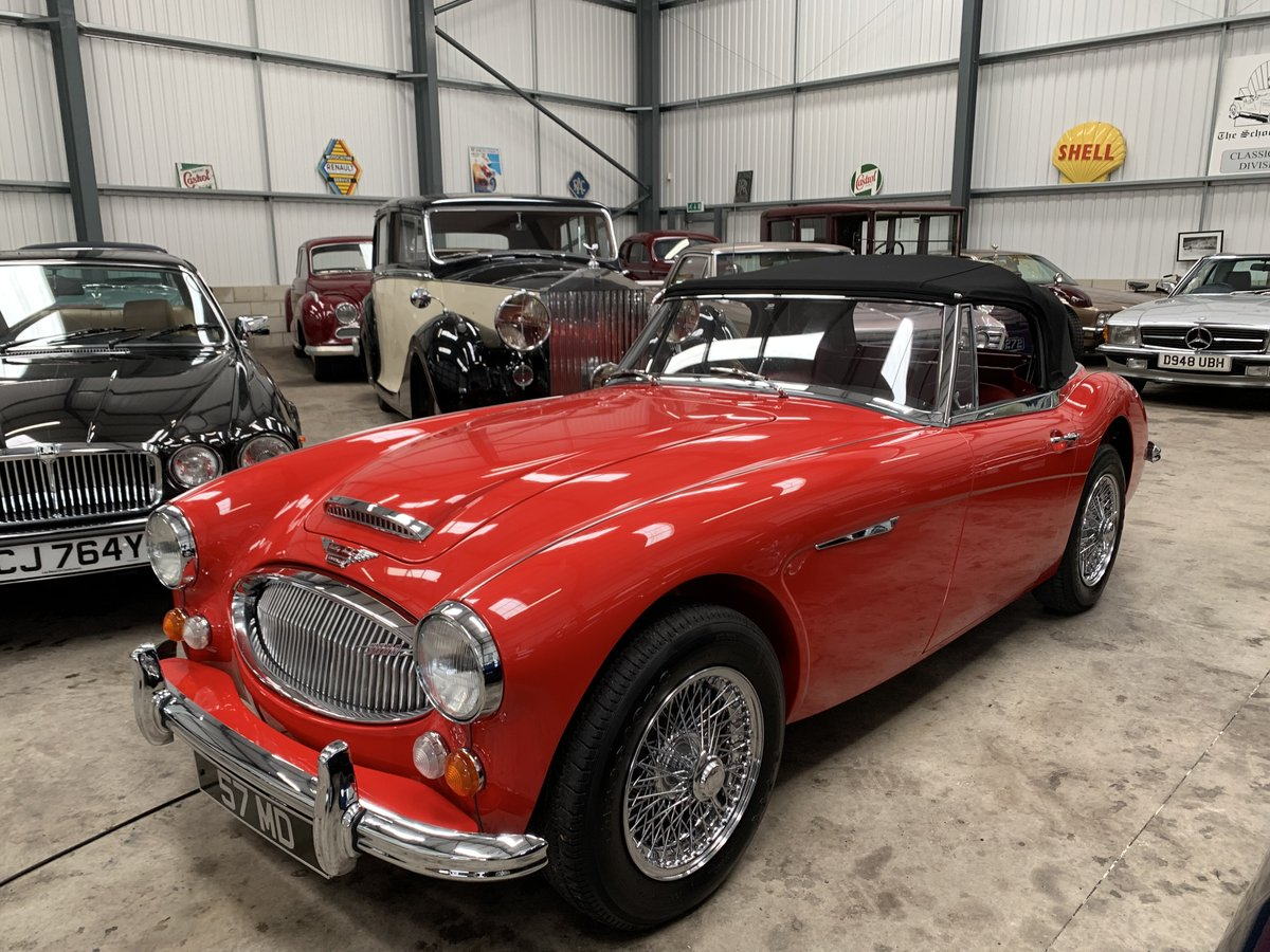 1967 AUSTIN HEALEY 3000 MK 3  Phase 2.  SOLD (picture 1 of 6)