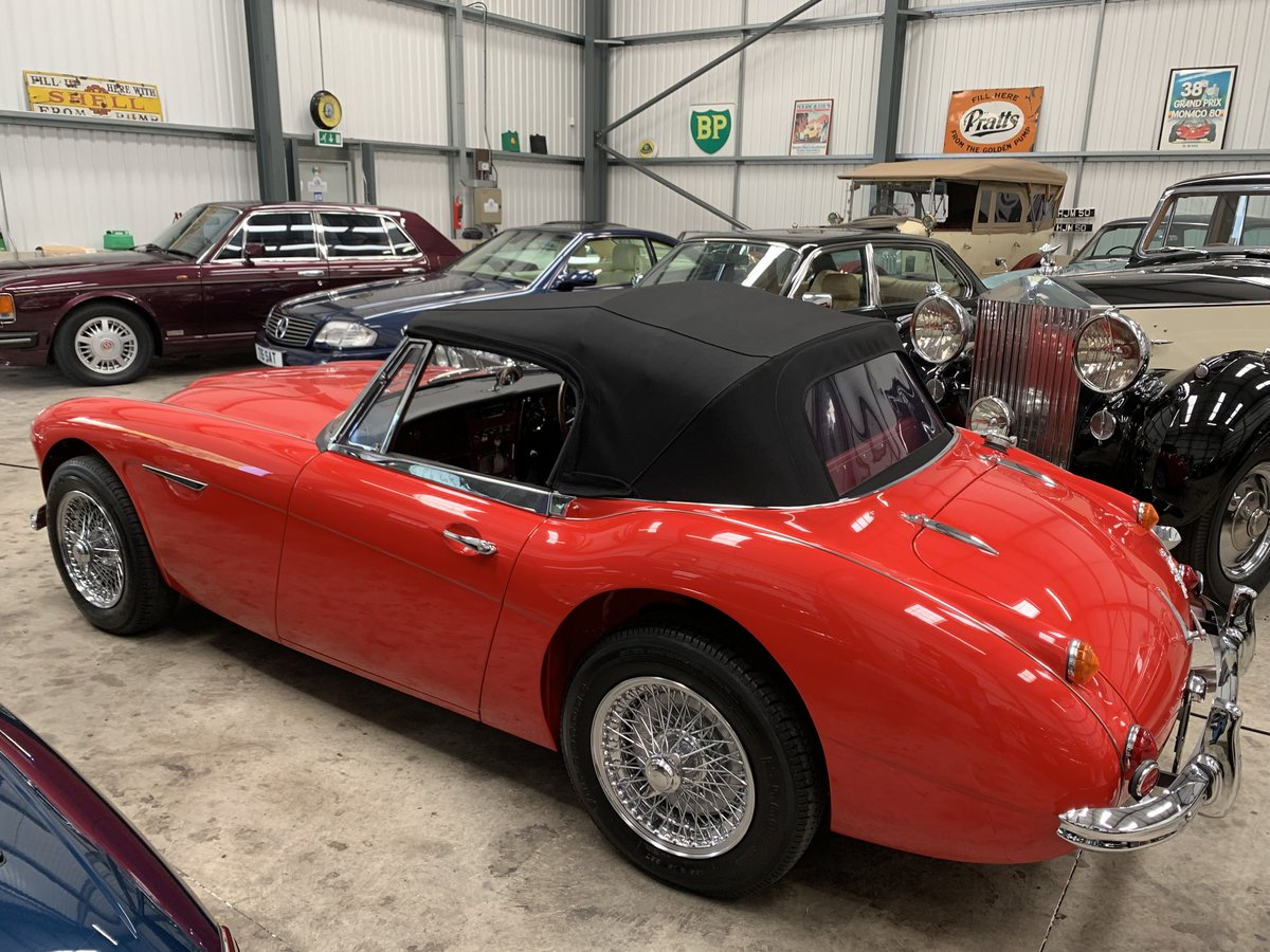 1967 AUSTIN HEALEY 3000 MK 3  Phase 2.  For Sale (picture 2 of 6)