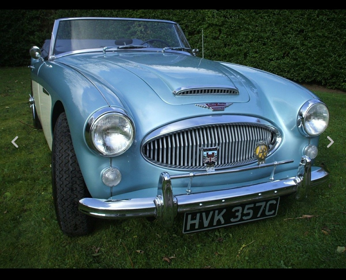 1965 Austin Healey 3000 Mk III BJ8 Phase 2 SOLD (picture 1 of 6)