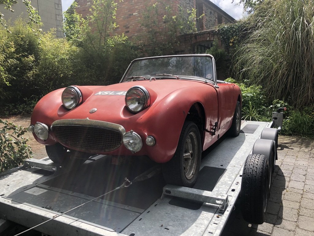 1959 Austin Healey Frogeye Sprite Restoration Project For Sale (picture 2 of 6)
