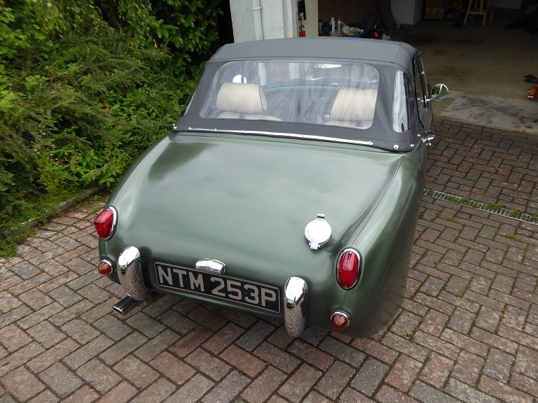 1976 Austin Healey Mk1 Frogeye Sprite replica SOLD (picture 3 of 6)