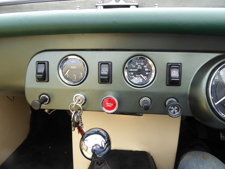 1976 Austin Healey Mk1 Frogeye Sprite replica SOLD (picture 6 of 6)