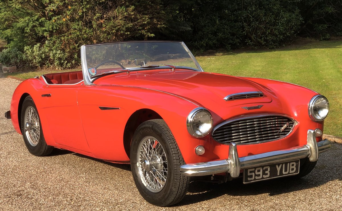 1960 AUSTIN HEALEY 3000 very origional low mileage example For Sale (picture 1 of 6)