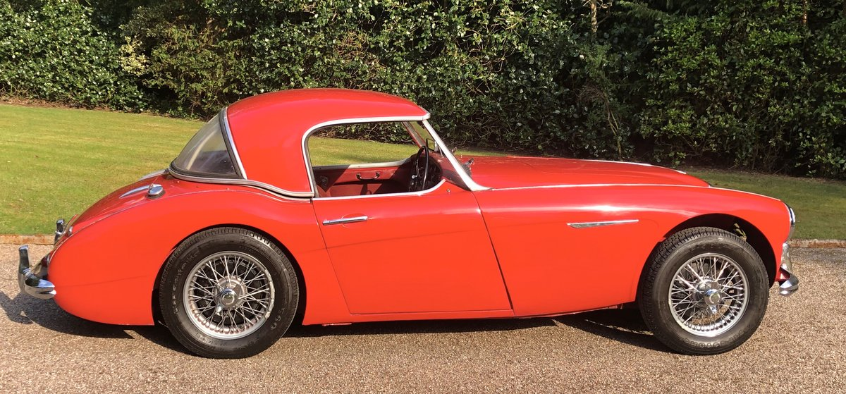 1960 AUSTIN HEALEY 3000 very origional low mileage example For Sale (picture 3 of 6)