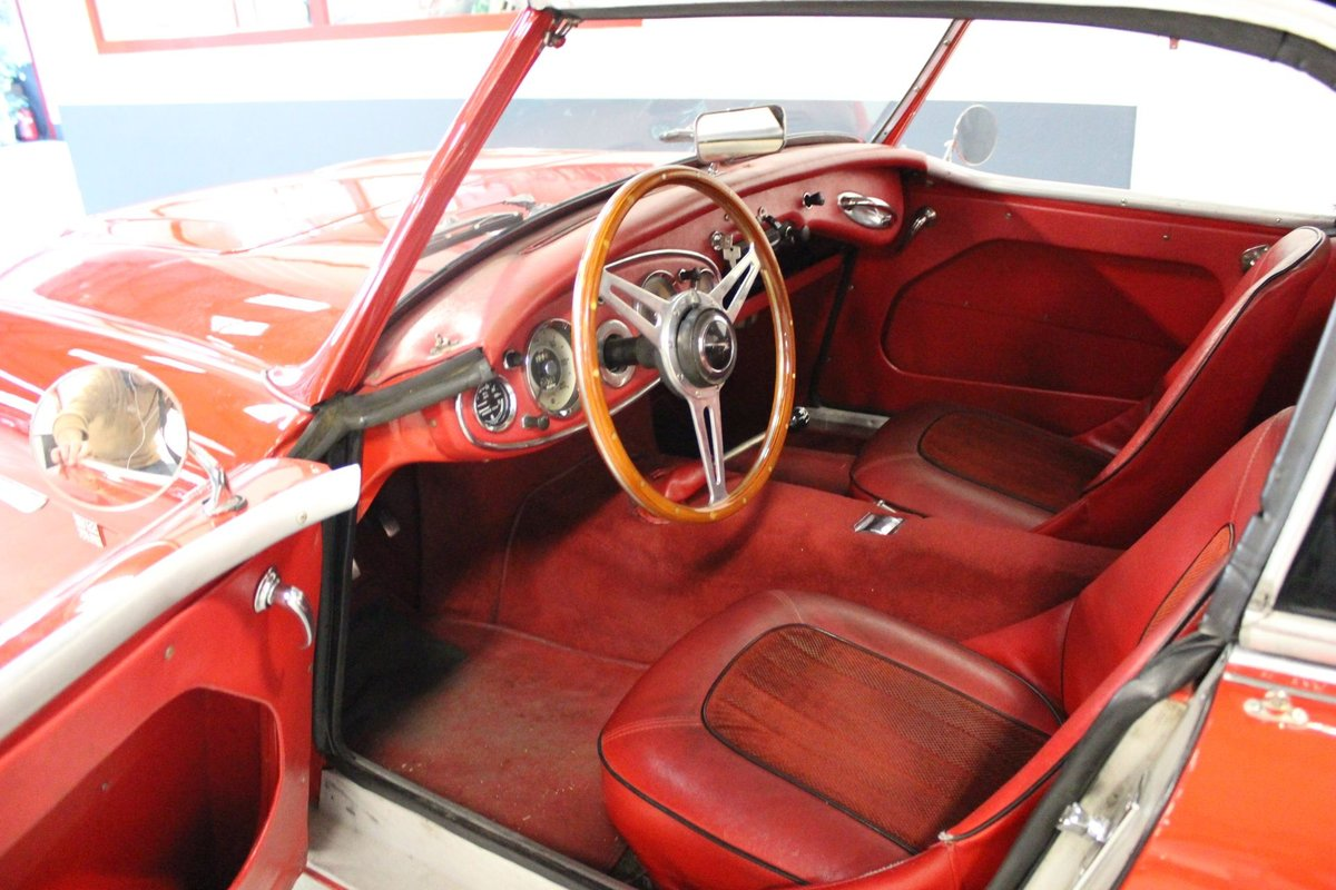 1961 Austin Healey 3000 BT7 Mk1 For Sale (picture 3 of 6)
