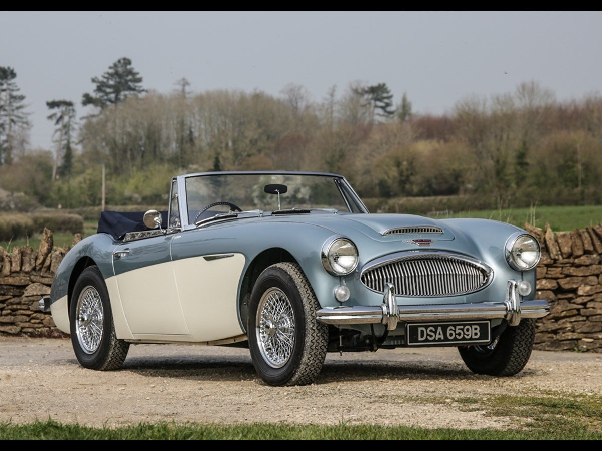 1964 Austin Healey 3000 Mk.III BJ8 Phase II For Sale (picture 1 of 5)
