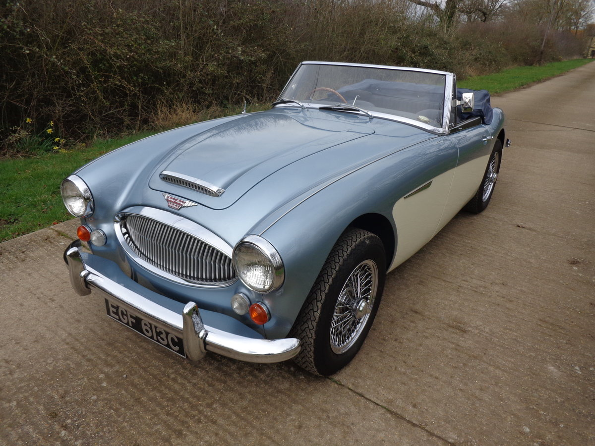 1967 AUSTIN HEALEY 3000 MK 3 PH 2 -  RESTORED TO SHOW STANDARD! For Sale (picture 3 of 6)