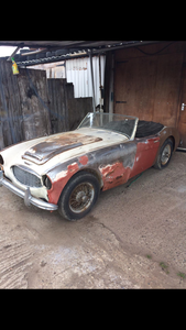 Austin Healey 3000 BT7 complete project 1959 For Sale