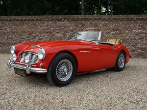 1959 Austin Healey 100-6 BN6 overdrive, restored condition