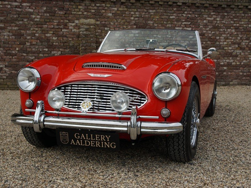 1959 Austin Healey 100-6 BN6 overdrive, restored condition For Sale (picture 5 of 6)