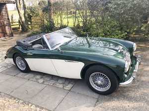 1964 Austin Healey 3000 MkIII BJ8 For Sale by Auction