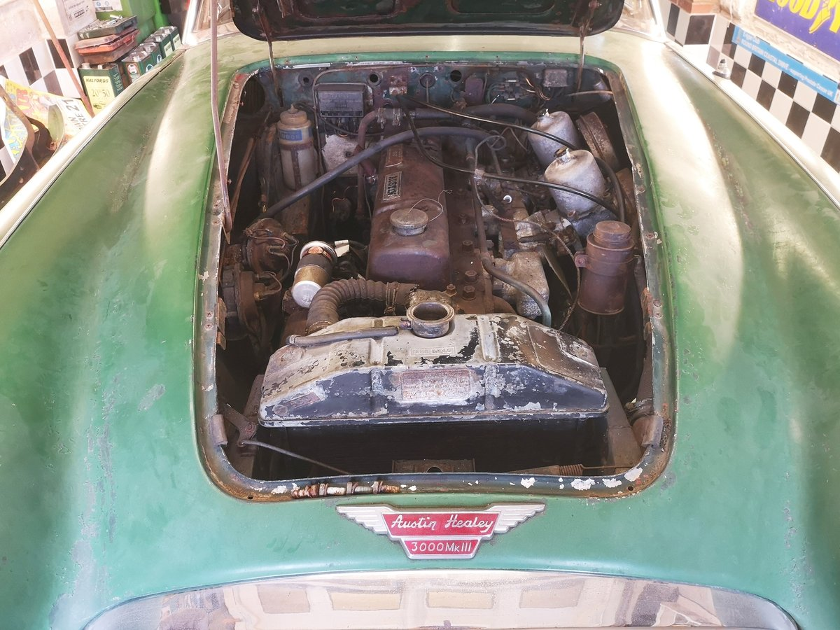 1965 Austin Healey 3000 for restoration For Sale (picture 3 of 6)