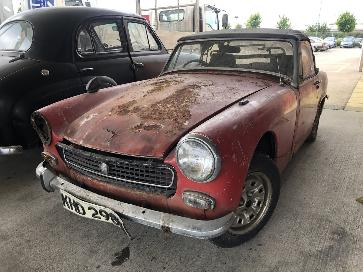 1972 Austin Healey Sprite Project At Eama Auction 20 7 For Sale By